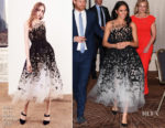 Meghan, Duchess of Sussex In Oscar de la Renta - Australian Geographic Society Awards