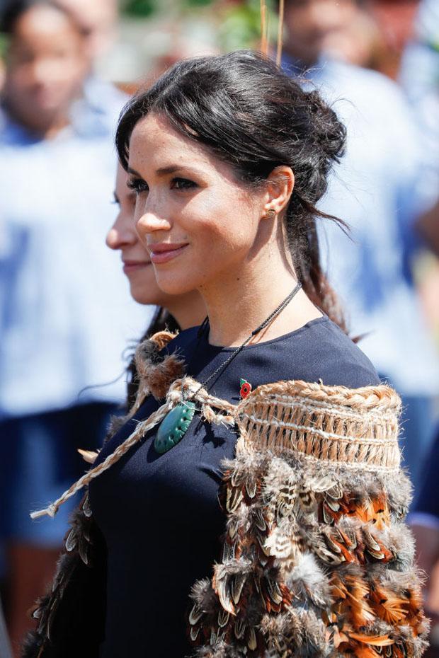 Meghan, Duchess of Sussex In Stella McCartney - Te Papaiouru Marae