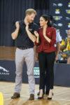 Meghan, Duchess of Sussex In Theodore Scanlan - Invictus Games' Wheelchair Basketball Finals