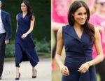 Meghan Markle In Dion Lee & Martin Grant - Australia Tour Day 3
