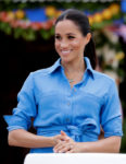 Meghan, Markle In Veronica Beard - Tonga Departure