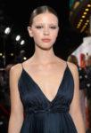 Mia Goth In Christian Dior Haute Couture - 'Suspiria' LA Premiere