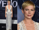 Michelle Williams In Louis Vuitton - 'Venom' LA Premiere