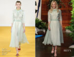 Nicole Kidman In Emilia Wickstead - The Ellen DeGeneres Show