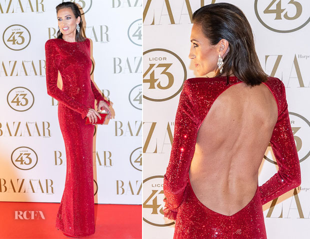 Nieves Alvarez In Philosophy di Lorenzo Serafini - Harper's Bazaar Party