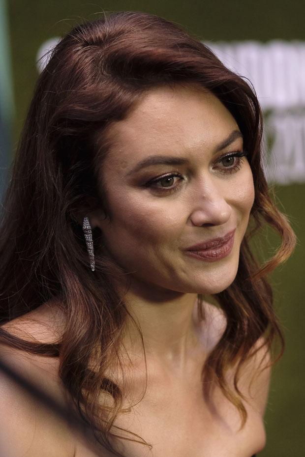 Olga Kurylenko In Ulyana Sergeenko Couture - 'The Man Who Killed Don Quixote' London Film Festival Premiere