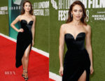 Olga Kurylenko In Ulyana Sergeenko Couture - 'The Man Who Killed Don Quixote' London Film Festival Premiere