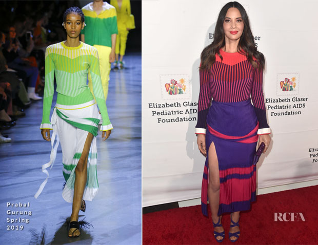 Olivia Munn In Prabal Gurung - 'A Time For Heroes' Family Festival