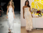 Priyanka Chopra In Marchesa - Bridal Shower