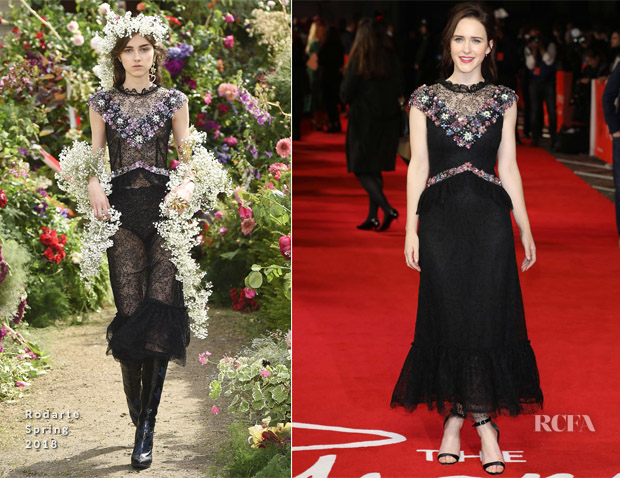 Rachel Brosnahan In Rodarte - 'The Romanoffs' London Premiere