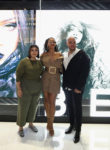 Rihanna In Burberry & Monse - Fenty Beauty Artistry Event & Sephora Launch