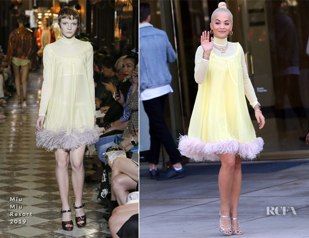 Rita Ora In Miu Miu - Out In  Los Angeles
