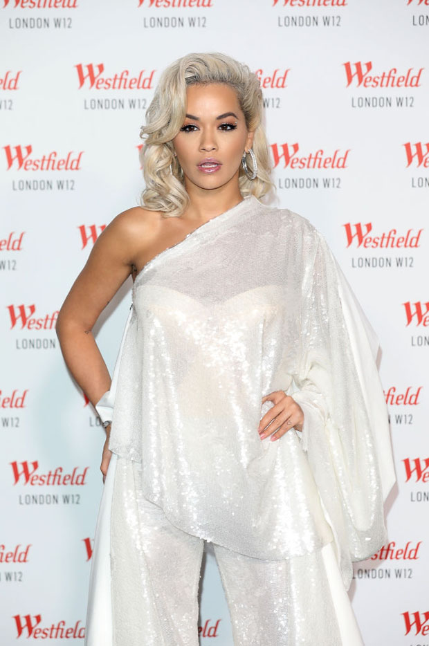 Rita Ora In Paula Knorr - Westfield London's 10th Anniversary Celebrations