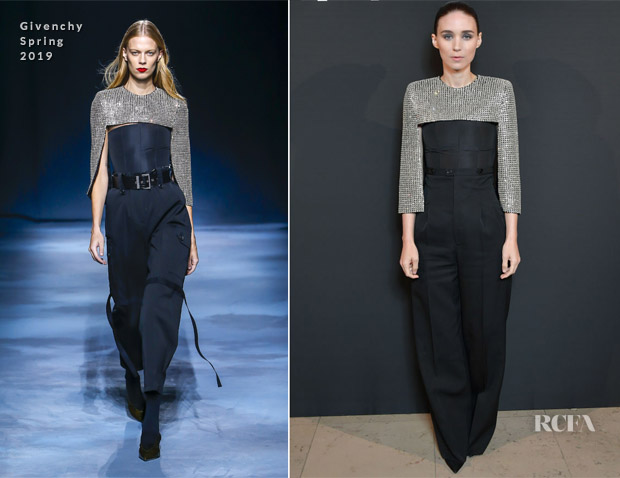 Rooney Mara In Givenchy - 'L'Interdit Givenchy' Photocall
