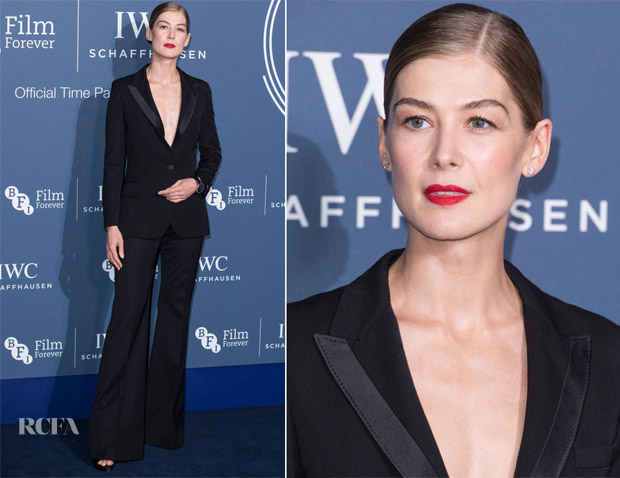 Rosamund Pike In Stella McCartney - IWC Schaffhausen Filmmaker Bursary Awards
