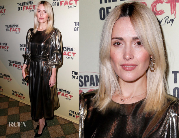 Rose Byrne In Les Coyotes De Paris - 'The Lifespan Of A Fact' Opening Night