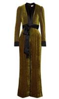 b7ef8340ed3 Regina Hall s Diane von Furstenberg Satin-Trimmed Striped Devoré-Velvet  Jumpsuit