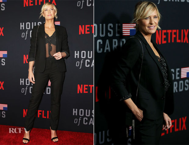 Saint Laurent In Saint Laurent - 'House of Cards' Season 6 World Premiere