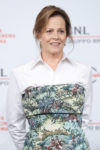 Sigourney Weaver In Off-White & Marni - Close Encounter Session Rome Film Festival