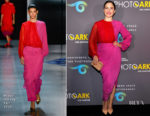 Sophia Bush In Prabal Gurung - National Geographic Photo Ark