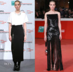 Sylvia Hoeks In Christopher Kane & Saint Laurent - 'The Girl In The Spider's Web' Rome Film Festival Photocall & Premiere