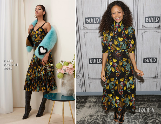 Thandie Newton In Fendi - Build Series