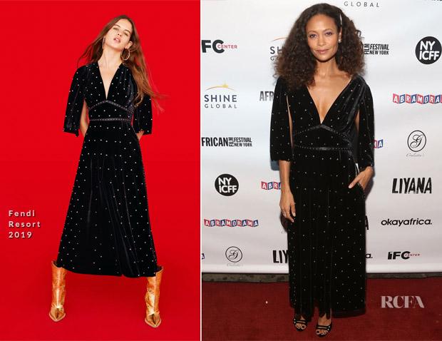 Thandie Newton In Fendi - 'Liyana' New York Premiere
