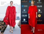 Tilda Swinton In Vetements - 2018 Sitges Film Festival