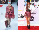 Tyra Banks In Gucci - 2018 American Music Awards