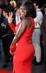 Viola Davis In Akris - 'Widows' London Film Festival Premiere