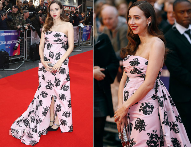 Zoe Kazan In Miu Miu - 'The Ballad Of Buster Scruggs' London Premiere