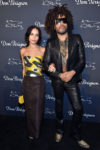 Zoe Kravitz In Oscar de la Renta - Dom Perignon & Lenny Kravitz 'Assemblage Exhibition'
