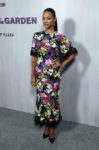 Zoe Saldana In Dolce & Gabbana - Hammer Museum 16th Annual Gala In The Garden