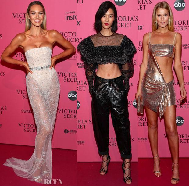 45be3e888df 2018 Victoria s Secret Fashion Show After-Party - Red Carpet Fashion ...