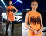 Adwoa Aboah In Ashley Williams - World Premiere Of Land Rover's New Range Rover