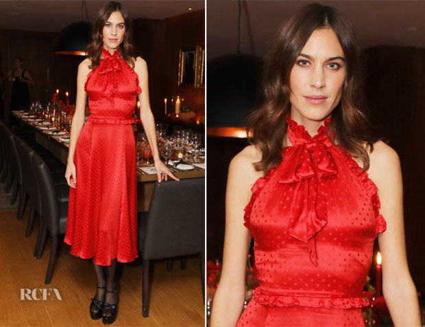 Alexa Chung In ALEXACHUNG - Alexa Chung And Friends Celebrate Thanksgiving