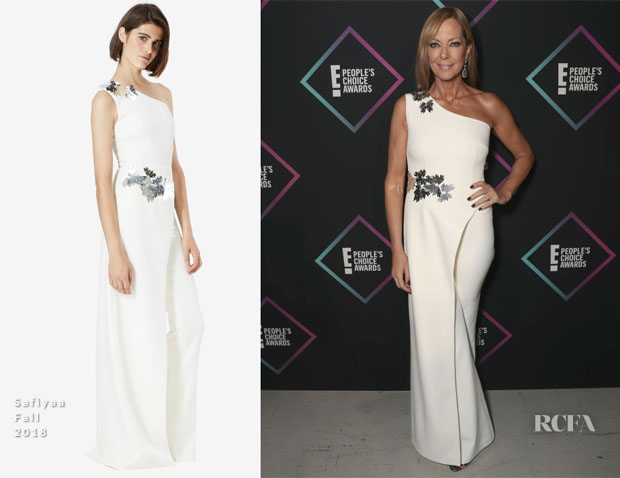 Allison Janney In Safiyaa - People's Choice Awards 2018