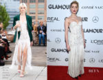 Amber Heard In Oscar de la Renta - 2018 Glamour Women of the Year Awards