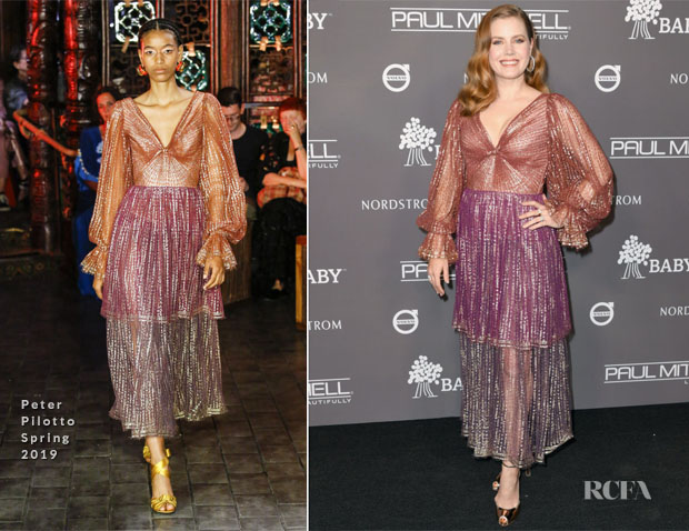 Amy Adams In Peter Pilotto - 2018 Baby2Baby Gala