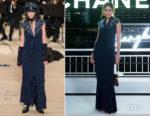 Araya A. Hargate (Chompoo) In Chanel - Chanel Cruise 2019 Replica Show