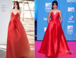 Camila Cabello In Alex Perry - 2018 MTV EMAs