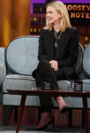 Carey Mulligan In Saint Laurent - The Late Late Show with James Corden