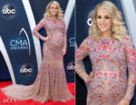 Carrie Underwood In Uel Camilo - 2018 CMA Awards