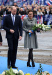Catherine, Duchess of Cambridge In Catherine Walker - Leicester City VisitCatherine, Duchess of Cambridge In Catherine Walker - Leicester City Visit