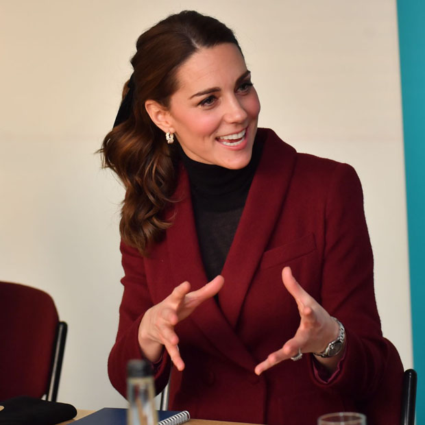 Catherine, Duchess of Cambridge In Paule Ka - UCL Developmental Neuroscience Lab Visit