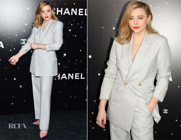 Chloe Grace Moretz In Dior Men - 2018 Museum Of Modern Art Film Benefit: A Tribute To Martin Scorsese