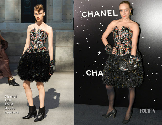 Chloe Sevigny In Chanel Haute Couture - 2018 Museum Of Modern Art Film Benefit: A Tribute To Martin Scorsese
