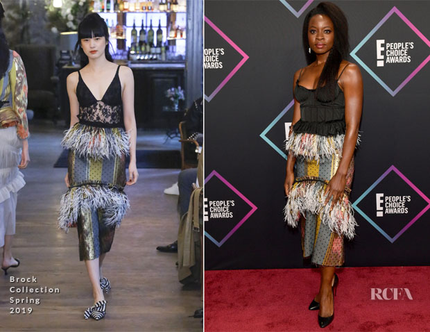 Danai Gurira In Brock Collection - People's Choice Awards 2018