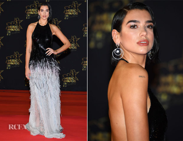 Dua Lipa In Armani Privé - 20th NRJ Music Awards