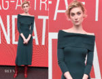 Elizabeth Debicki In Gabriela Hearst - SAG-AFTRA Foundation Conversations: 'Widows'